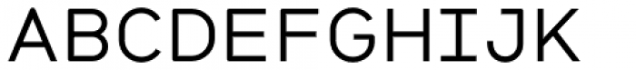 Citrine Medium Font UPPERCASE