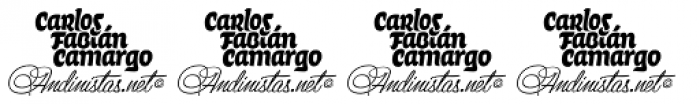 Citronela Dingbats Free Demo Font OTHER CHARS