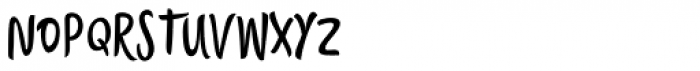 Citronela Display 1 Font UPPERCASE