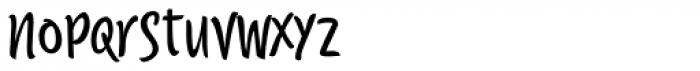 Citronela Display 1 Font LOWERCASE