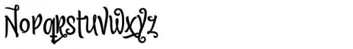 Citronela Display 3 Font LOWERCASE