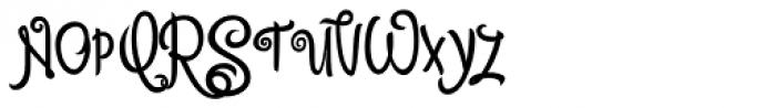 Citronela Display 4 Font UPPERCASE