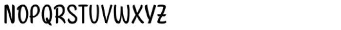 Citronela Text Font UPPERCASE