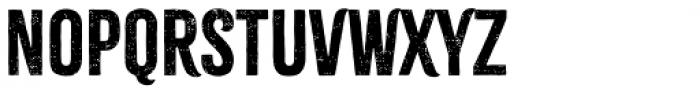 Citrus Gothic Regular Font UPPERCASE