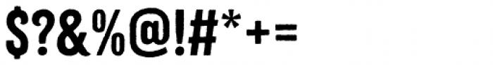 Citrus Gothic Rough Regular Font OTHER CHARS