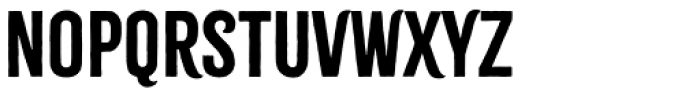 Citrus Gothic Solid Regular Font LOWERCASE