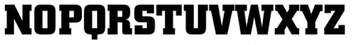 City BQ Bold Font UPPERCASE
