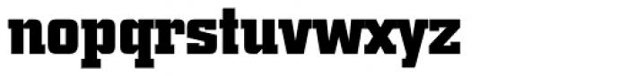 City BQ Bold Font LOWERCASE