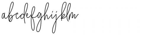 City Streetwear Regular Font LOWERCASE