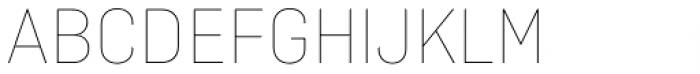 Ciutadella Display Thin Font UPPERCASE