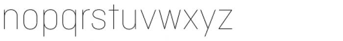 Ciutadella Display Thin Font LOWERCASE
