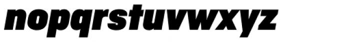 Ciutadella Display Ultra Black Italic Font LOWERCASE