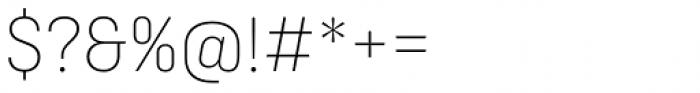 Ciutadella Display Ultra Light Font OTHER CHARS