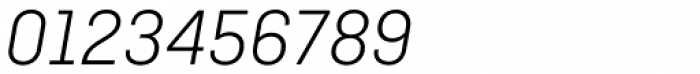 Ciutadella Light Italic Font OTHER CHARS
