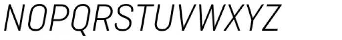 Ciutadella Light Italic Font UPPERCASE