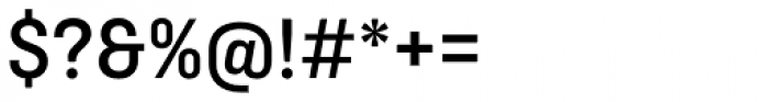 Ciutadella Medium Font OTHER CHARS
