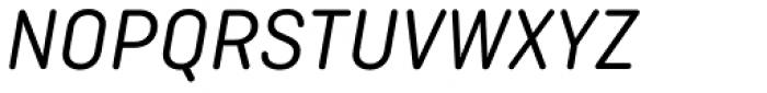 Ciutadella Rounded Italic Font UPPERCASE