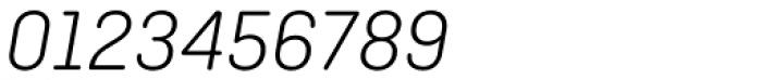 Ciutadella Rounded Light Italic Font OTHER CHARS