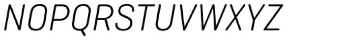 Ciutadella Rounded Light Italic Font UPPERCASE