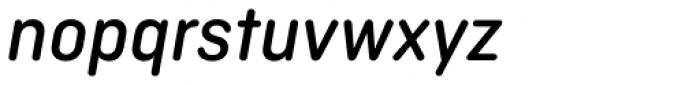 Ciutadella Rounded Medium Italic Font LOWERCASE