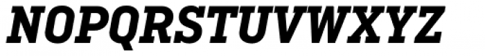 Ciutadella Slab Bold Italic Font UPPERCASE