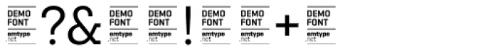Ciutadella Slab DEMO Regular Font OTHER CHARS