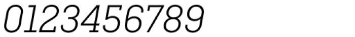 Ciutadella Slab Light Italic Font OTHER CHARS