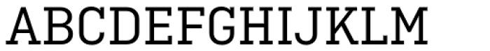 Ciutadella Slab Regular Font UPPERCASE