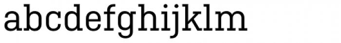 Ciutadella Slab Regular Font LOWERCASE