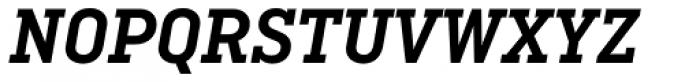 Ciutadella Slab Semi Bold Italic Font UPPERCASE