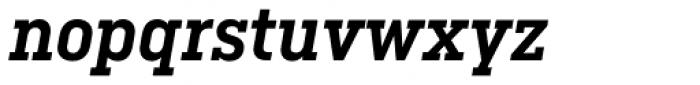 Ciutadella Slab Semi Bold Italic Font LOWERCASE
