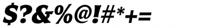Civane Cond Black Italic Font OTHER CHARS