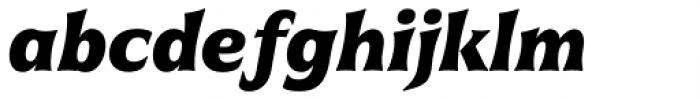 Civane Cond Black Italic Font LOWERCASE