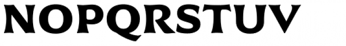 Civane Ext Bold Font UPPERCASE