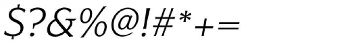 Civane Ext Light Italic Font OTHER CHARS