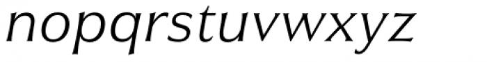 Civane Ext Light Italic Font LOWERCASE