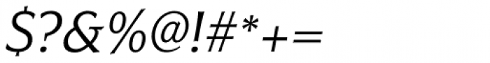 Civane Norm Book Italic Font OTHER CHARS