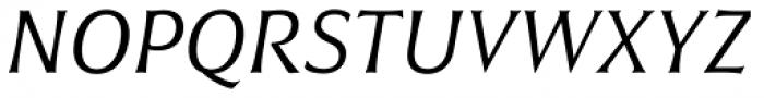 Civane Norm Book Italic Font UPPERCASE