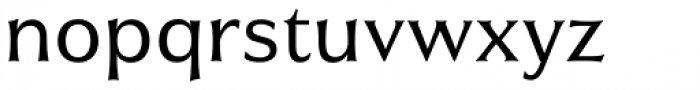 Civane Norm Regular Font LOWERCASE