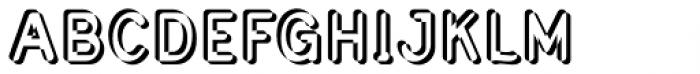 Civic Sans Balloon Extract Font UPPERCASE
