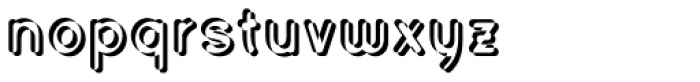 Civic Sans Balloon Extract Font LOWERCASE