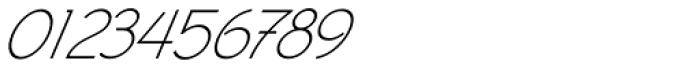 Civic Sans Light Italic Font OTHER CHARS