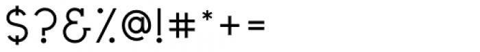 Civic Sans Medium Font OTHER CHARS