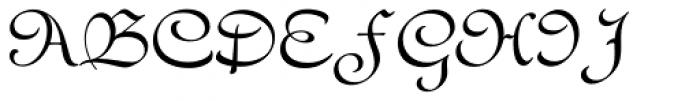 Civilite MJ Std Regular Font UPPERCASE
