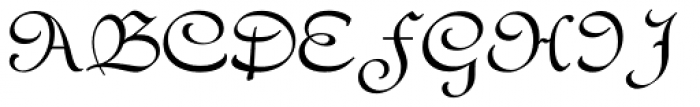 Civilite Font UPPERCASE