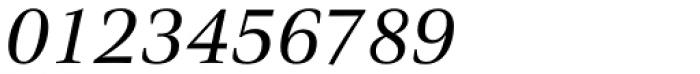 Civita Italic Font OTHER CHARS