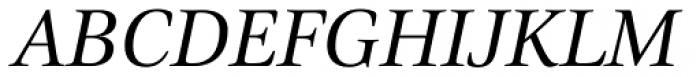 Civita Italic Font UPPERCASE