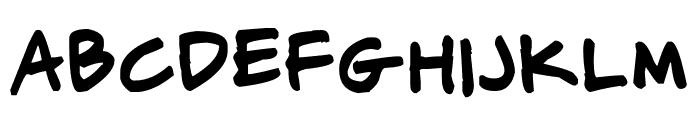 CJ Potter Handwriting Font LOWERCASE