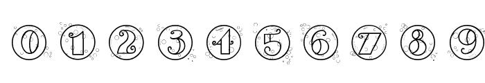 CK Bubbles Font OTHER CHARS