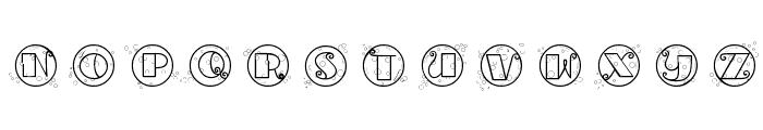 CK Bubbles Font LOWERCASE